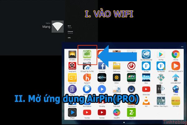 Hướng dẫn cách kết nối không dây máy chiếu với điện thoại qua wifi