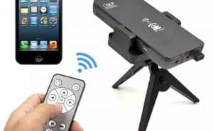 máy chiếu kết nối với điện thoại qua wifi