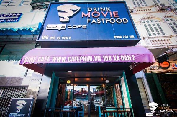 Cine Café 2 – 166 Xã Đàn 2