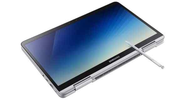 Thiết kế của notebook 9 pen 1
