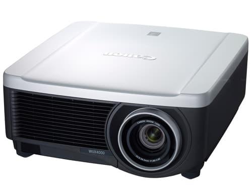 độ tương phản của máy chiếu - máy chiếu Canon WUX4000