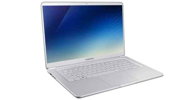 thiết kế của notebook 9