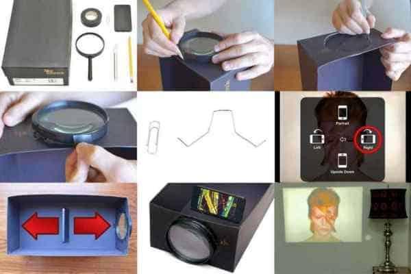 tìm hiểu về máy chiếu tự chế