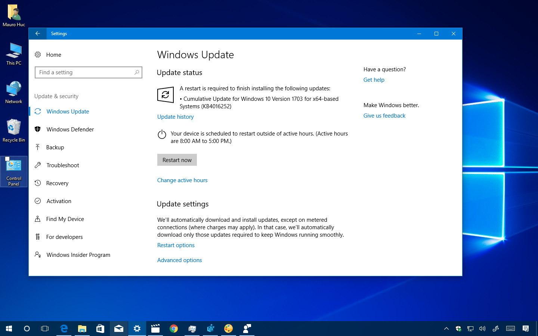 Windows 10 (phiên bản 1703)