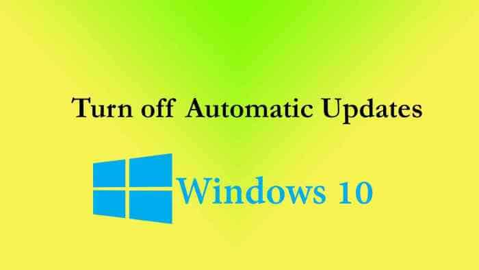 Windows Auto Update Win10
