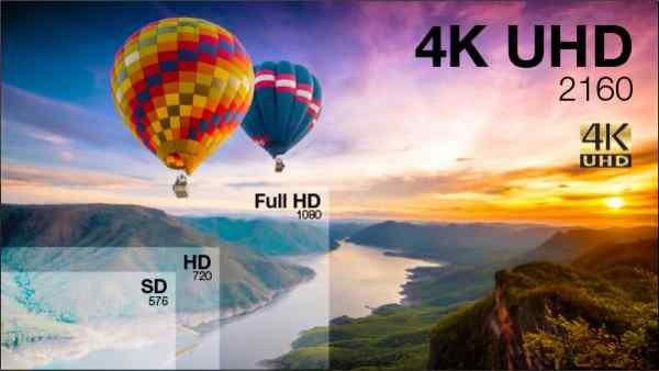 tìm hiểu về máy chiếu 4k - 4