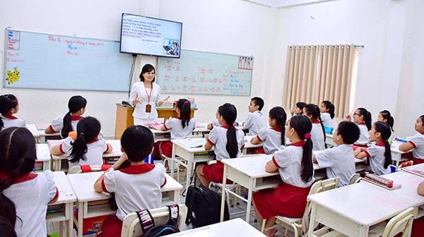 dạy học bằng tivi