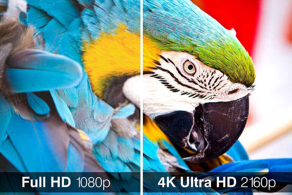 So sánh HD, Full HD và Ultra HD, các sản phẩm điển hình cho 3 độ phân giải này - 2