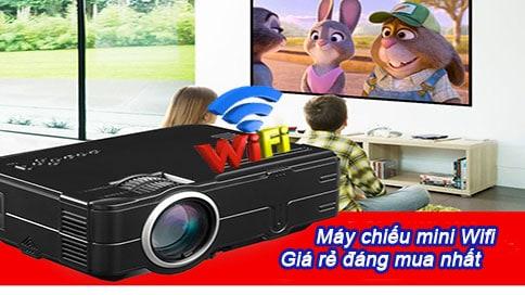 máy chiếu mini wifi