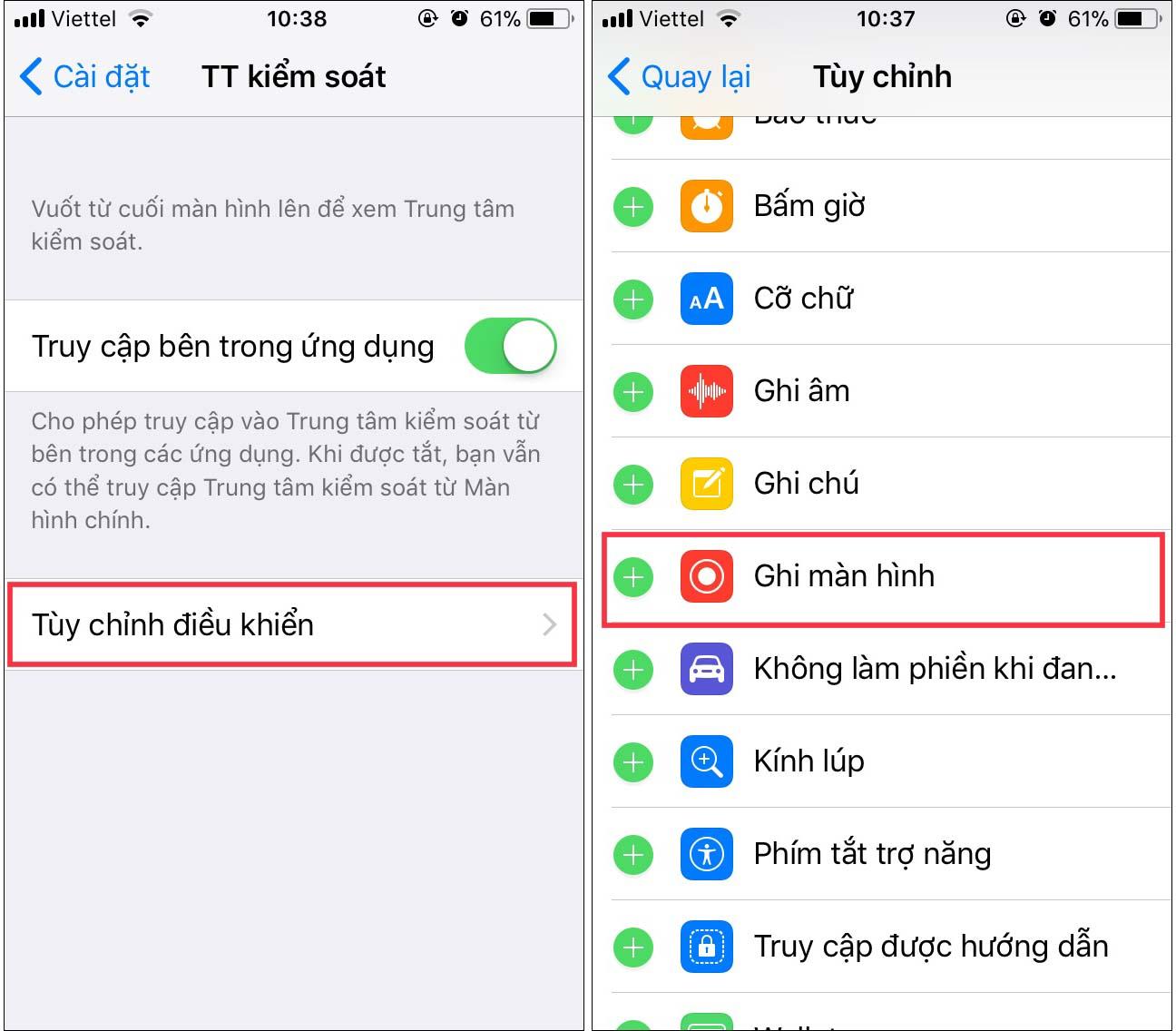 Làm thế nào để ghi lại màn hình iphone và ipad - 1
