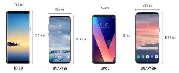 thông số kỹ thuật và hình ảnh của Samsung Galaxy S9 - 1