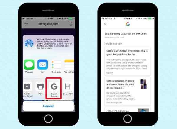 làm thế nào để truy cập google trên ios messenger và safari - 7