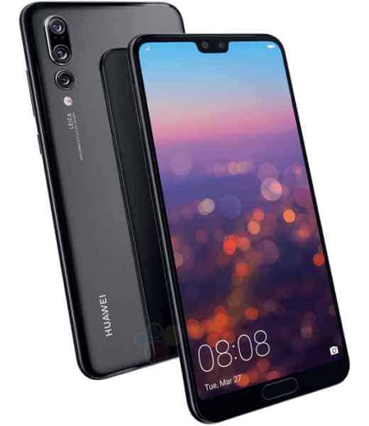camera điện thoại Huawei P20 pro