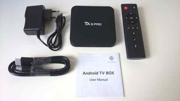 android tivi box Tx5 Pro