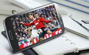 xem bóng đá bằng điện thoại