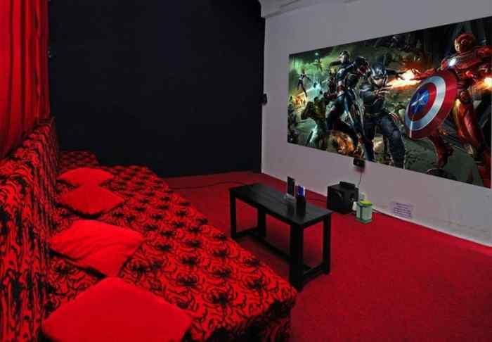 phòng chiếu phim