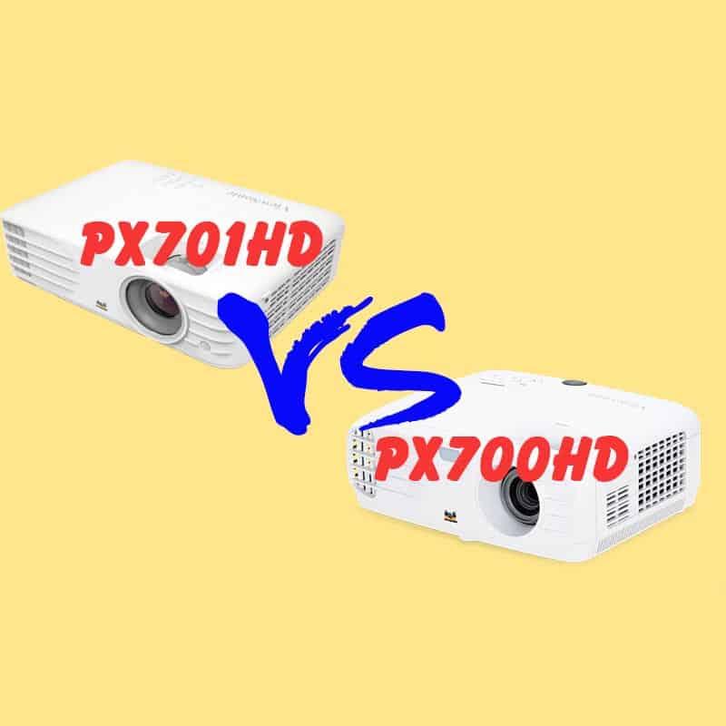 Nên chọn máy chiếu Full HD Viewsonic px700HD và ViewSonic px701HD