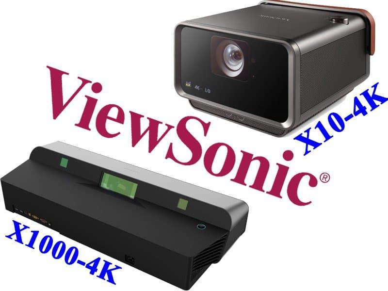 Máy chiếu Viewsonic X10 và X1000 một làn gió mới lạ cho giải trí gia đình