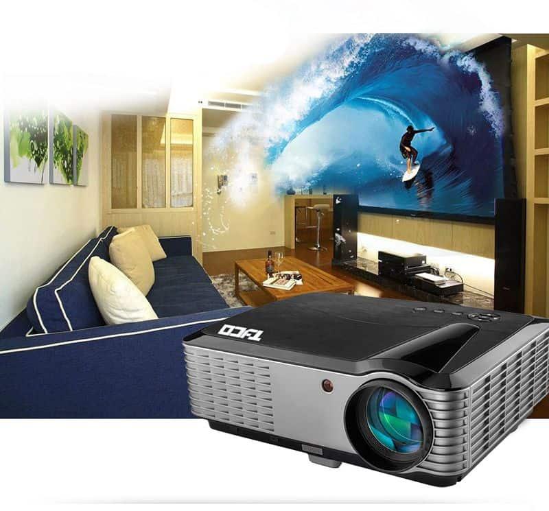 Giải trí đỉnh cao với máy chiếu Full HD giá rẻ Tyco T8HD cho gia ...